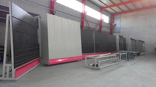 康捷机械-LBP2500中空玻璃生产线(内外合片板压)