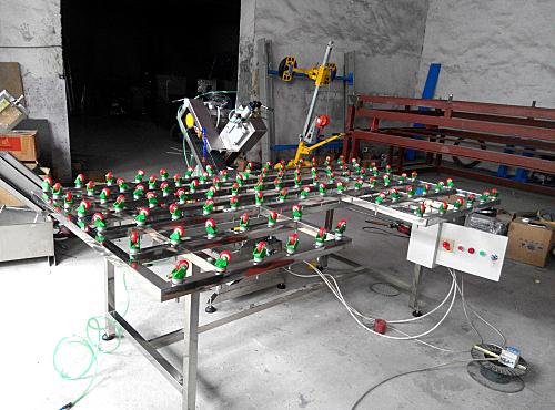 中空玻璃生产线—淋水式砂带玻璃磨边机SM95A