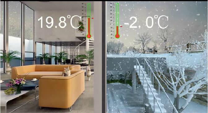 中空玻璃的温差